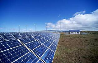 installation photovoltaique non intégrée au bâti