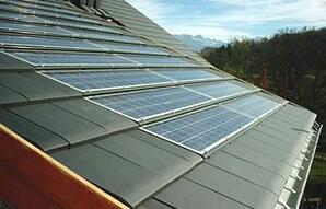 intégration au bâti d'une centrale photovoltaique