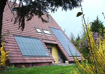 l'inclinaison du panneau solaire photovoltaique